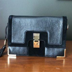 Black Vince Camuto Leather Bag